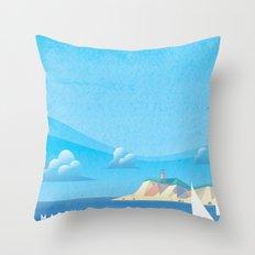 Marthas Vineyard Throw Pillow
