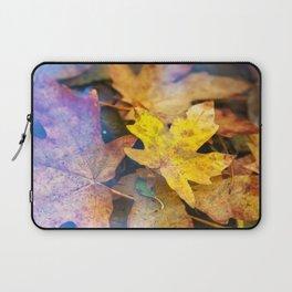 Bigleaf Maple Leaves Laptop Sleeve