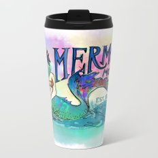 Mermaid Motel Metal Travel Mug