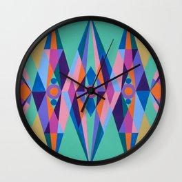 Sacred Geometric Triad Wall Clock