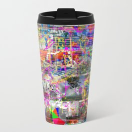 Some (More) Of That Olde Skool Bullmess (or, Four? Shit! That Ain't A Thing...) (Recombinant Series) Travel Mug