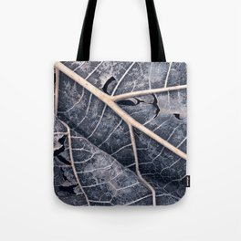 Organic Winter Decay Tote Bag