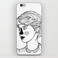 KATE (Kingston Falls 1984) iPhone & iPod Skin