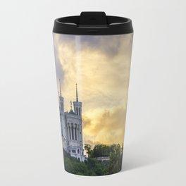 Sunset over Lyon Travel Mug