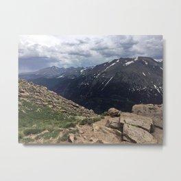 Terra Tomah - Rocky Mountains Metal Print