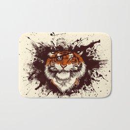 TigARRGH (Maroon and Orange) Bath Mat