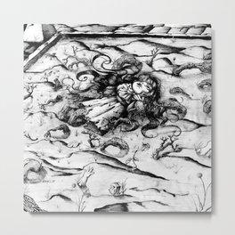 Sterile doll Metal Print