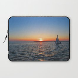 Sunset over Sandusky Bay Laptop Sleeve