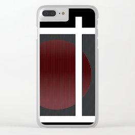 Esfera Caracas Clear iPhone Case
