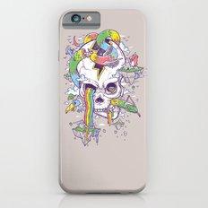 Flying Rainbow skull Island iPhone 6s Slim Case