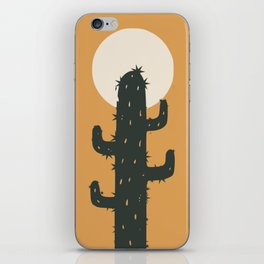 Tall cactus iPhone Skin