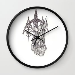 I don't know who lives there. I don't know what happened. Wall Clock
