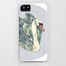 Swan n°II iPhone Case