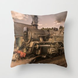 Whitby Express Throw Pillow
