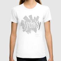 sydney T-shirts featuring Sydney by Shirt Urbanization