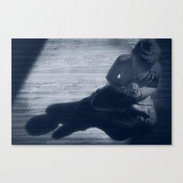 buddha monochrome Canvas Print