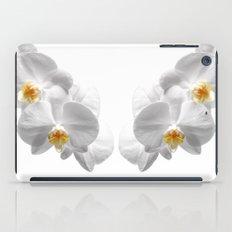 white orchid I iPad Case