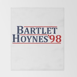 Bartlet and Hoynes 1998 Throw Blanket