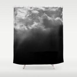 FADED SKY Shower Curtain