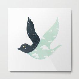 Bipolar Bird Metal Print