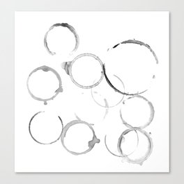 ring from mugs Canvas Print
