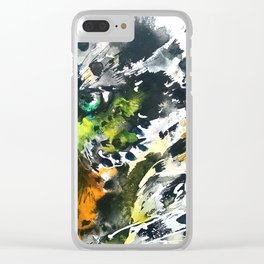 Eye of the Leopard Clear iPhone Case