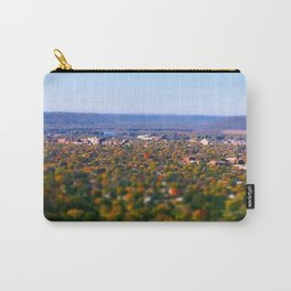 La Crosse from the bluff; Wisconsin Carry-All Pouch