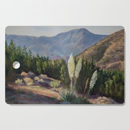 The Sentinels of the California Desert Cutting Board