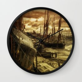 Ships from Essex Maldon Estuary Wall Clock