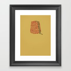 Fezzes are cool (Doctor Who) Framed Art Print