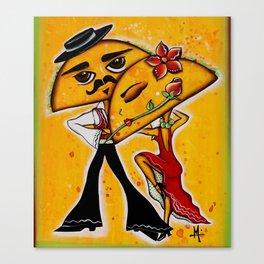 Taco Tango Canvas Print