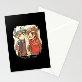 Mystery Twins Stationery Cards
