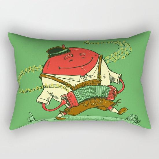 The Polka Dot Rectangular Pillow