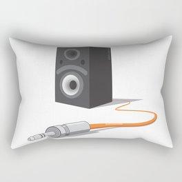unplug the glance Rectangular Pillow