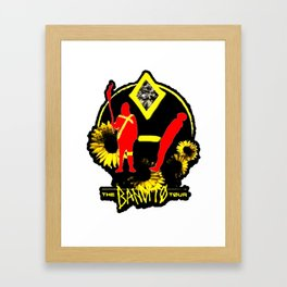 The Bandit Tour Framed Art Print