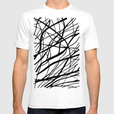 Tumble Weed Mens Fitted Tee White SMALL