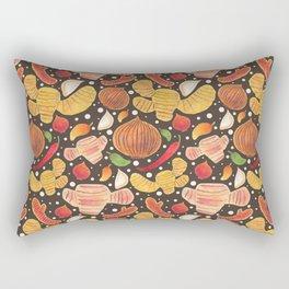 Indonesia Spices Rectangular Pillow