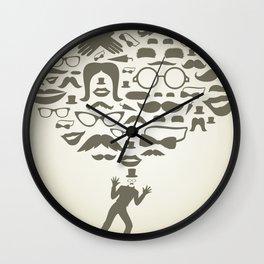 Art transformation Wall Clock