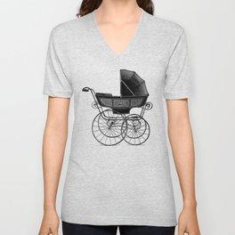 Baby carriage Unisex V-Neck