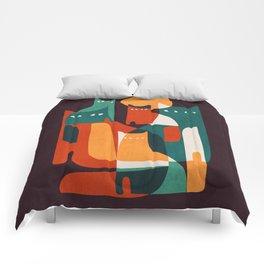 Cat Family Comforters