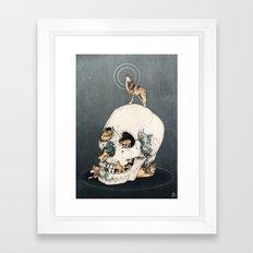 WOLFPACK Framed Art Print