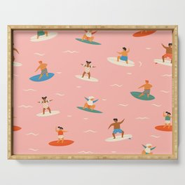 Surf kids Serving Tray