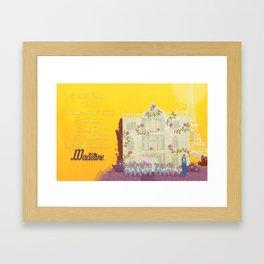 Madeline. Framed Art Print