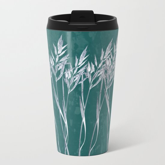 Grass Metal Travel Mug