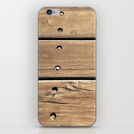 Planks. iPhone Skin