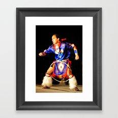 Hoop Dancer Framed Art Print