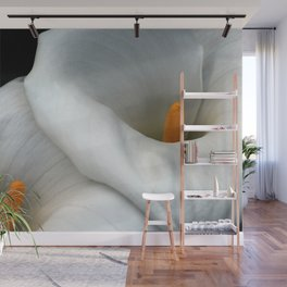 Two Calla Lily Flowers Together Wall Mural