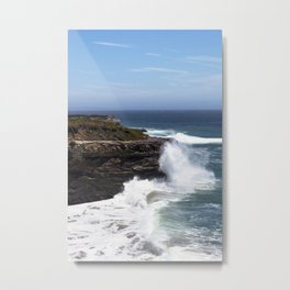 Pacific Coast view in Santa Cruz Metal Print