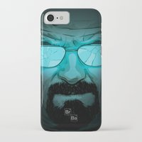 walter white iPhone & iPod Cases featuring Walter White by Guillaume Vasseur