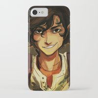 viria iPhone & iPod Cases featuring Leo by viria